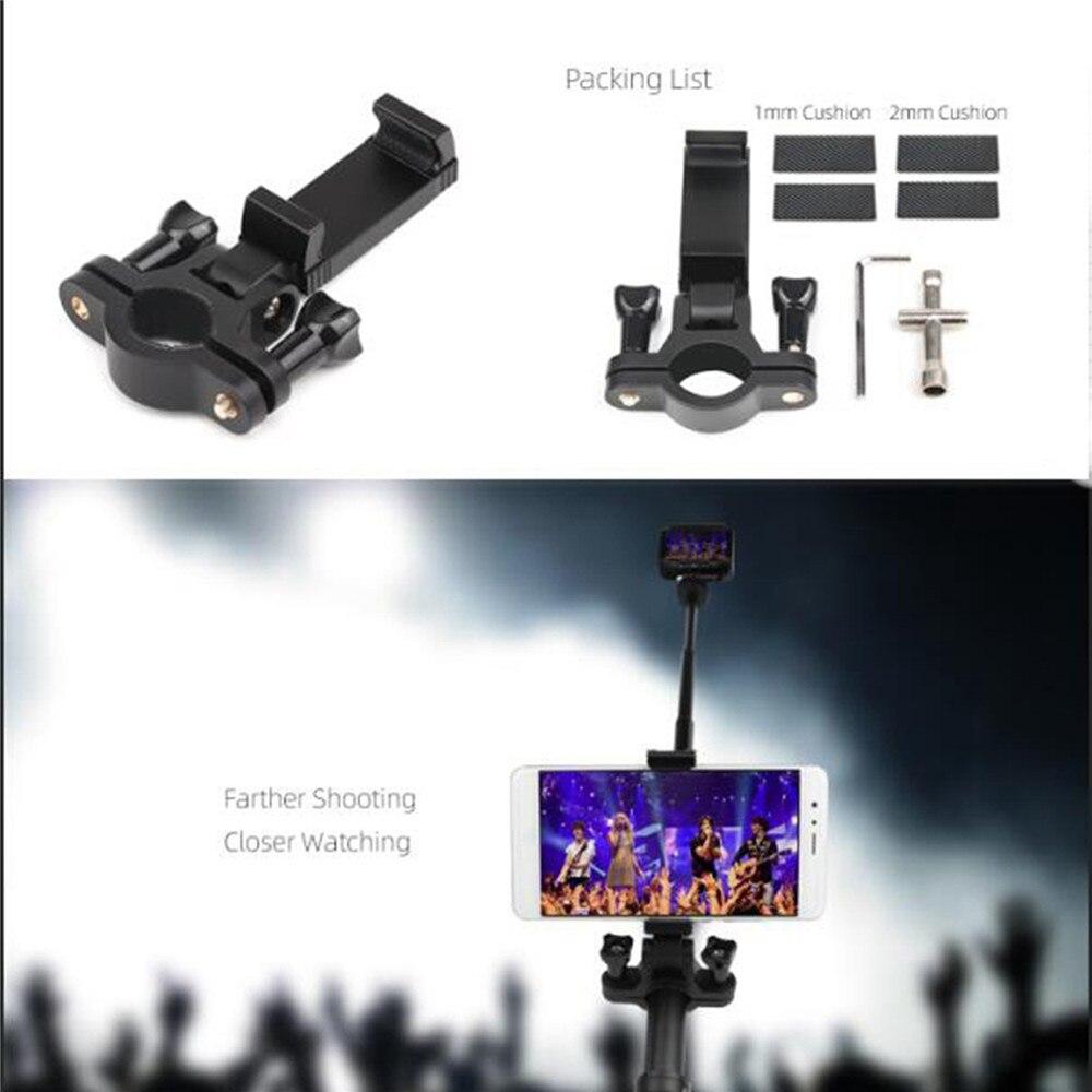 Smartphone Bracket On Extension Rod Bracket Holder Kit For OSMO Pocket/ACTION/GOPRO Camera Extension Pole Mobile Phone Holder