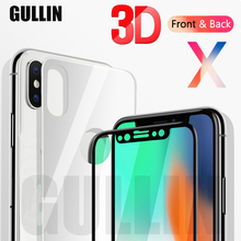 3D Full Front Back Cover Screen Protector For iPhone X 7 8 6S Plus Tempered Glass Cover For iPhone 6s 7 8 X Protective Film glossy matte lcd screen front back protector w cleaning cloth for iphone 4 4s transparent