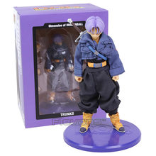 Dimensão de Dragon Ball Z Trunks DOD Real Roupas PVC Action Figure Collectible Modelo Toy(China)
