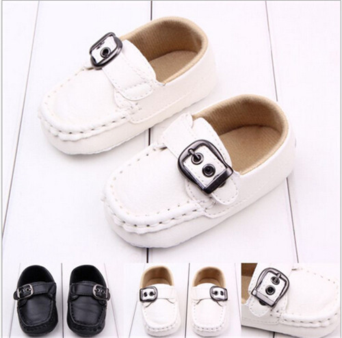 2015 PU Baby Shoes Toddler Infant Anti-slip First Walkers Shoes Kids Children Unisex Prewalker Sneakers