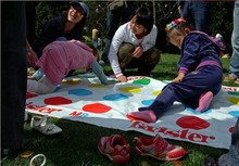 Body Twister Hot Body Dance Board Game Twister for Family Friends Adult Children Party Fun Entertainment Games Freeshipping