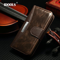 5c Fashion Business Luxury Classic Flip Case For Apple Iphone 5c With Metal Cover Wallet Stand