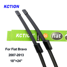 Windshield premium front wiper blade windscreen rear wiper car accessories for FIAT Bravo Fit Push Button Arms from 2007 to 2013 цена 2017