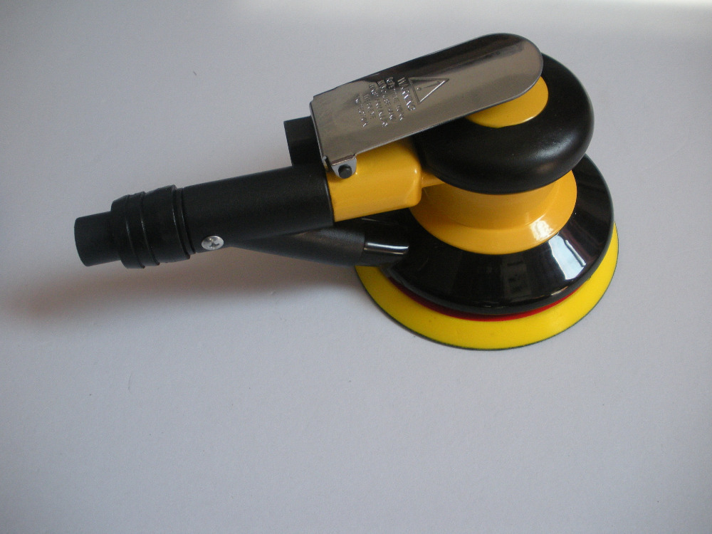 hot sale! 5 inch air sander with vacuum 125mm pneumatic sander 5 5inch this fall 125mm pneumatic sander disc sandpaper machine bd 0142