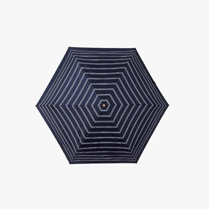 girl umbrella cute umbrella lace round dot Striped umbrella summer uv travel umbrella in Umbrellas from Home Garden