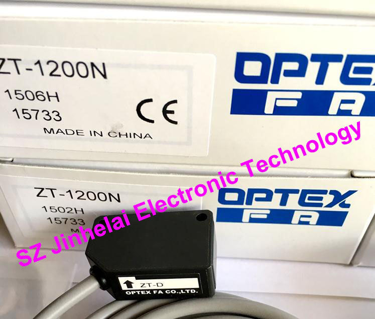 New and original ZT-1200N OPTEX PHOTOELECTRIC SWITCH Photoelectric sensor new and original vd 300 optex photoelectric switch photoelectric sensor