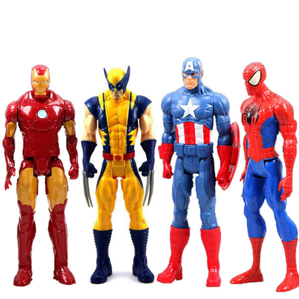 Super Hero Toys For Boys : Marvel heros captain america spiderman iron man the