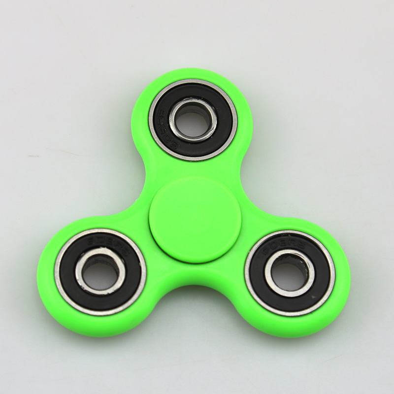 15 Colors EDC Hand Spinner ABS Fidget Spinner Anti Stress Reliever Handspinner Tri-Spinner Toys For Autism and ADHD