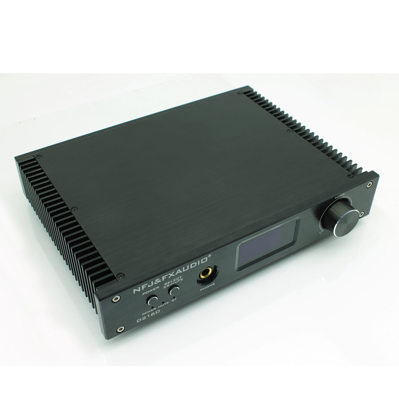 2019 FX-Audio New D2160 TAS5548+TAS5614 Bluetooth 4.2 Full Digital High Power Amplifier 150W*2 USB 24Bit/192KHz Remote Control