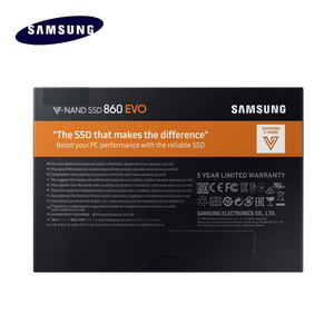 Image 5 - サムスンのssd 860 evo 250ギガバイト500ギガバイト1テラバイト内部ソリッドステートディスクSATA3 2.5 hdハードdriveforラップトップデスクトップpc