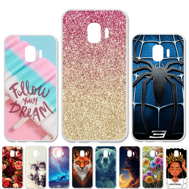 For Samsung Galaxy J2 Core Cases Silicone Soft TPU Bumper For Samsung A7 2018 J2 Prime A6 A8 J4 J6 Plus Pro 2018 Cases Covers