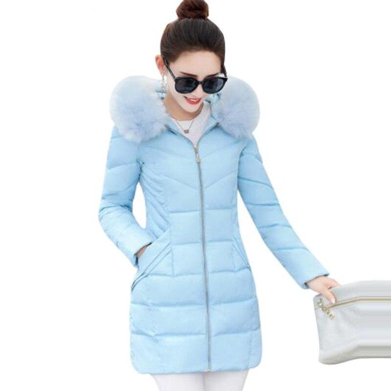 Frauen Kleidung & Zubehör 100% QualitäT Winterjacke Frauen Heißer 2017 Neue Dame Park Lange Weibliche Jacke Dicken Mantel Und Mantel Hohe Qualität Warm Damen Winter Mäntel Zy3760 SorgfäLtig AusgewäHlte Materialien