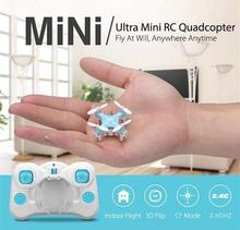 Intelligent remote control JJRC DHD D1 Supper Mini Pocket Drone 2 4G 4CH Helicopter free shipping