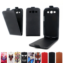 Flip vertical cover bag Leather Case for Samsung Galaxy S III GT-I9300 soft TPU coque case for Samsung Galaxy S3 I9300
