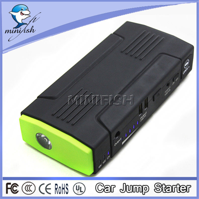 lithium 68000mAh emergency battery charger jump starter power station 12v Car Battery Jump Starter 24v 3200mah capacity 18650 rechargeable lithium battery pack jump starter