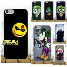 Dark Knight Rises The Joker Why So Serious Exclusivo Para Samsung Galaxy A3 A5 A7 J1 J3 J5 J7 2016 2017 S5 S6 S7 S8 S9 borda Mais(China)