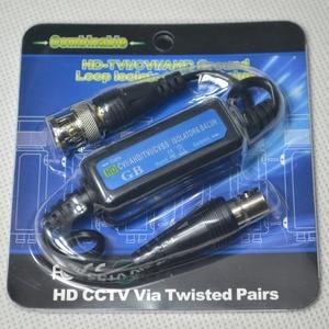 Image 5 - 5 قطعة HD الأرض حلقة المعزل TVI CVI AHD CVBS فيديو Balun BNC ذكر إلى أنثى كاميرا تلفزيونات الدوائر المغلقة