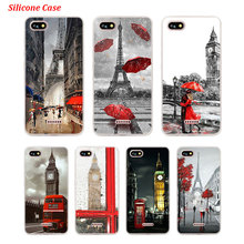 Silicone Phone Case Eiffel Tower London city for Xiaomi Redmi S2 Note 4 4X 5 5Pro 5A Plus 6 6A 7 Pro Cover for xiaomi 6 8 a1 a2 redmi note s2 4 4x 5 5a 6 6a pro lite black silicon phone case eiffel tower london city style