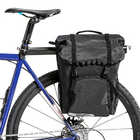 Bike Pannier Bicycle Cycling Trunk Pack MTB Road Bike Saddle Rack Bag Bike Cargo Carrier Bag