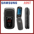 A997 Original Unlocked Samsung A997 Rugby III 2G 3.15MP GPS Bluetooth Mp3 player Refurbished Flip mobile phone Free Shipping