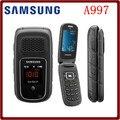 A997 abierto original samsung a997 rugby iii 2g 3.15mp gps bluetooth reproductor de mp3 reformado teléfono móvil del tirón del envío libre