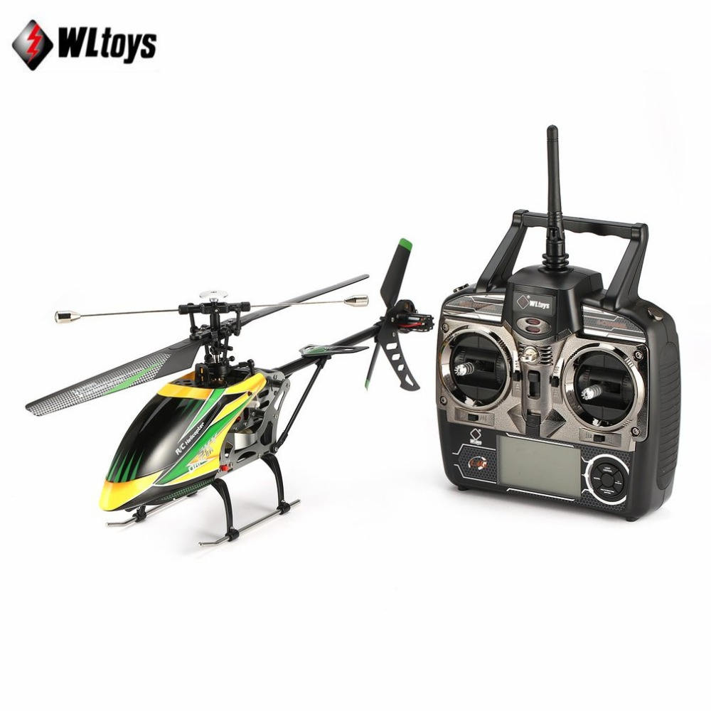 WLtoys V912 Drone Sky Dancer Aircraft 2.4GHz RTF Aeroplane 4 Channel Single Blade RC Helicopter With Head Lamp Light tz wltoys v913 single propelle 4 ch 2 4ghz large helicopter sky dancer uppgrade version v911 v912