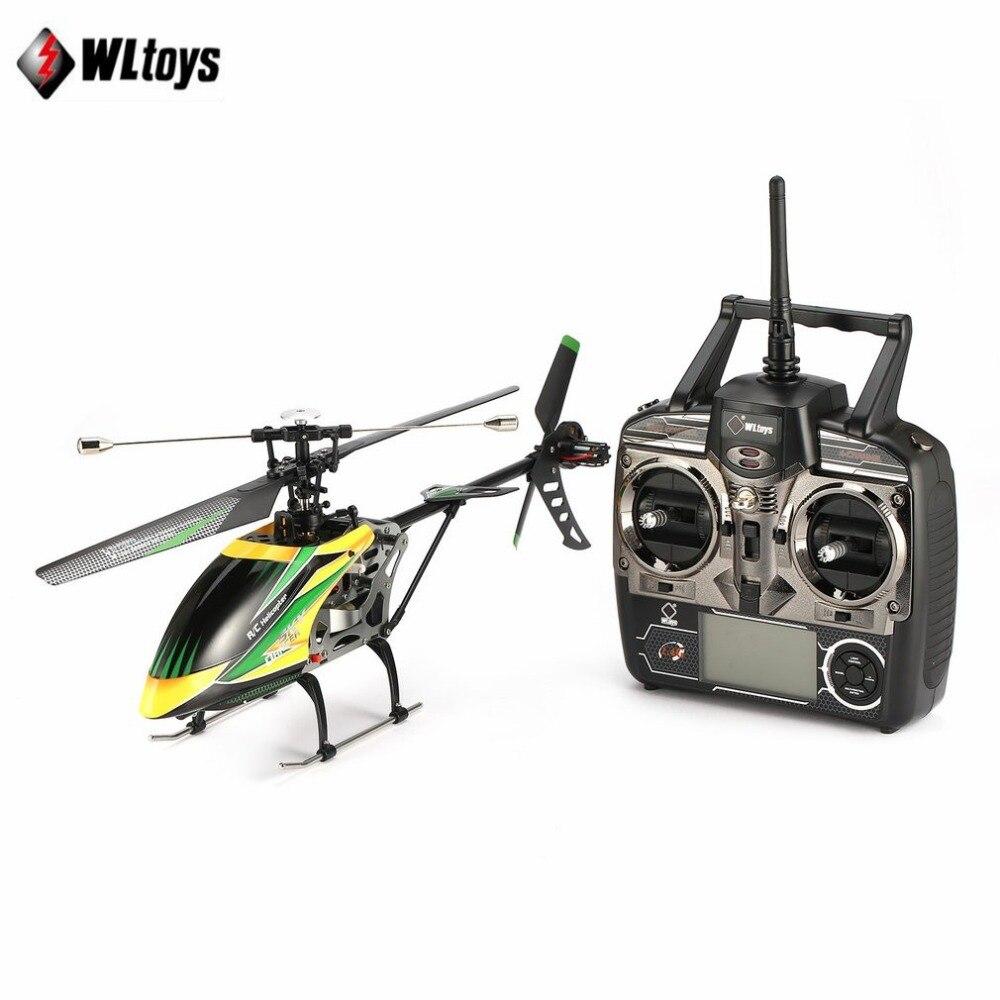 WLtoys V912 Drone Sky Dancer Aereo 2.4 ghz RTF Aereo 4 Canali Singola Lama RC Elicottero Con Luce Della Lampada Della Testa tz