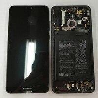 Оригинальный М & Sen для Huawei p20 Pro CLT AL ЖК дисплей экран Сенсорная панель планшета с рамкой + отпечатков пальцев + bettery для p20 плюс