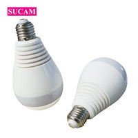 SUCAM 2MP 3MP 4MP High Definition Wifi Camera Light Bulb Easy Installation Home Security Two Way
