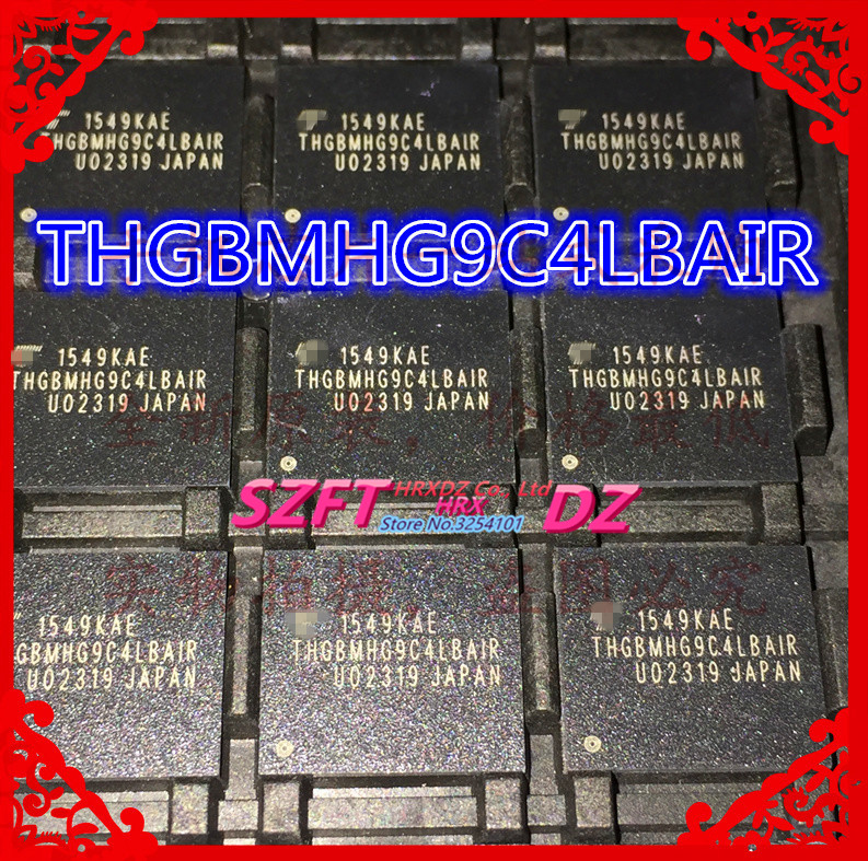 SZFTHRXDZ 100% new original THGBMHG9C4LBAIR EMMC 64GB BGA точило калибр тэ 200 480л