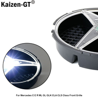 Kaizen GT 6500K Xenon White LED Illuminated Base Only For Mercedes W204 C Class Pre LCI