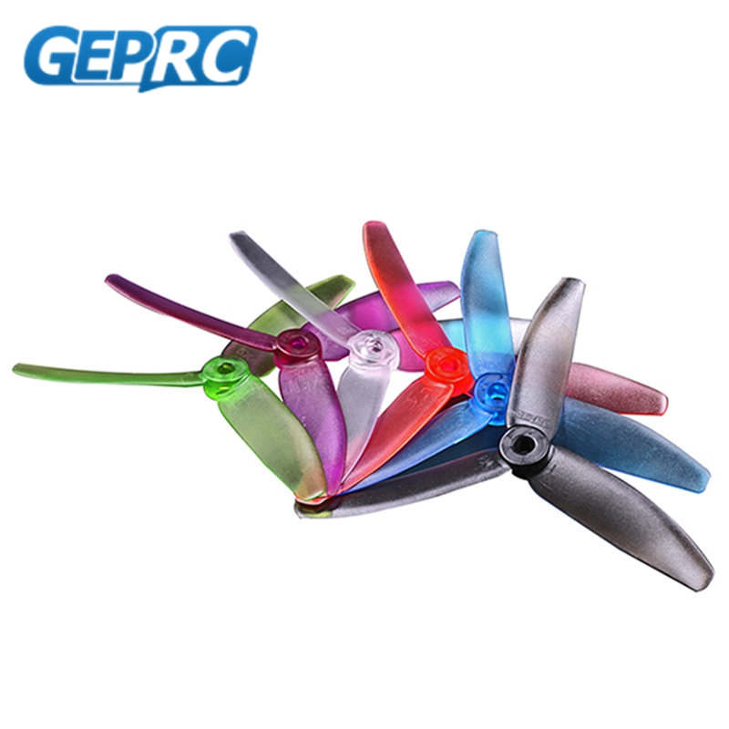 Free Shipping 10 Pairs GEPRC 5040 V2 5 Inch CW CCW 3 Blade Propeller For RC Quadcopter Racing Drones Helicopter Toys Spare Part 2015 free shipping 1pair 2pcs dji inspire11345 self tightening propeller for diy quadcopter remote control helicopter spare part