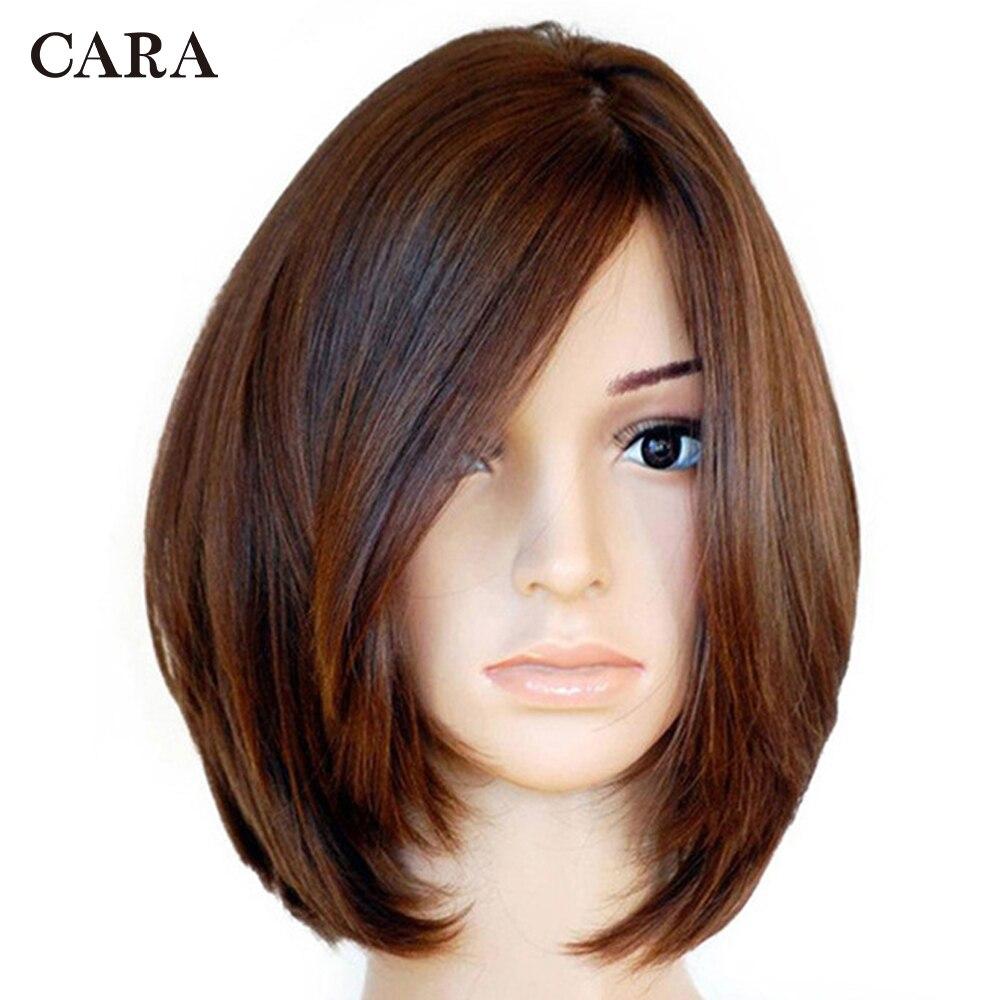 Casher Juif Perruque Avant de Lacet de Cheveux Humains Perruques Avec Bébé Cheveux Européenne Vierge Perruque De Cheveux Court Frontal Perruque CARA Cheveux