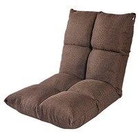 Leisure Chair Japanese Floor Seating Lovely Reclining Zaisu Legless Tatami Seat Memory Foam Foldable Chair Home Furniture