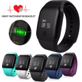 A88+ Bluetooth 4.0 Smart Bracelet Blood Oxygen Heart Rate  Fitness Watch Pedometer Call Reminder for Android iOS