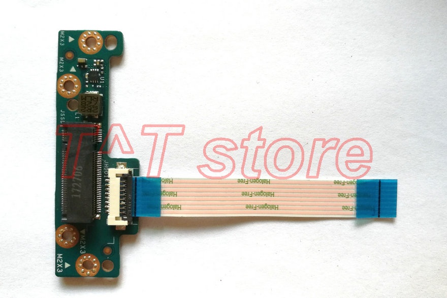 original For HP 15T BR 15Z BW 15 BS HDD NGFF SSD connector board with cable