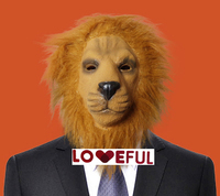 New Quality Cute Cosplay Funny Big Lion Latex Clown Mask For Halloween Costume Party