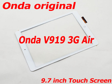 цена на 9.7 Touch Glass Panel for Onda V919 3G Air Touchscreen Front Panel Capacitive Screen Digitizer Repair