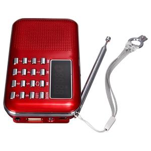 Image 4 - Mini Radio FM Portatile Digitale Speaker USB Micro SD TF Card Mp3 Music Lettore