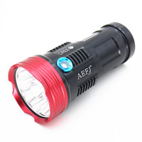 20000 Lumens SKYRAY King 10T6 LED Flashlamp 10 X CREE XM L T6 LED Flashlight Torch