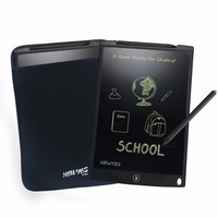 Newyes Black 12 LCD Writing Tablets Writing And Drawing Board Used As Whiteboard Bulletin Board With