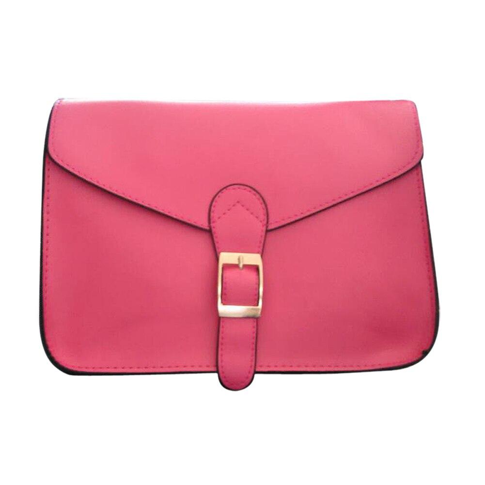 Для женщин сумка консервативный стиль старинные конверт мешок плеча высокого качества портфель темно-розовый