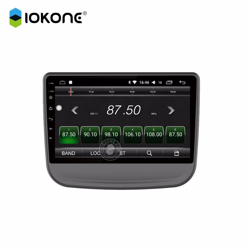 IOKONE Car android 8 0 multimedia player 2 din DVD stereo radio IPS 2 5D 9