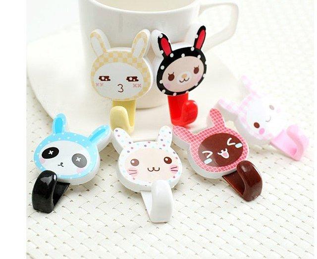 Cute Coat Hooks online shop creative home cute korean fashion cartoon animals