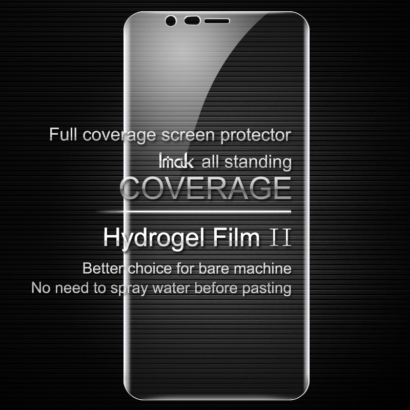 iMAK Hydrogel II Full Coverage Soft Protective Film For OnePlus 5T Screen protector Film For Oneplus 5t Back Film For Oneplus-5t