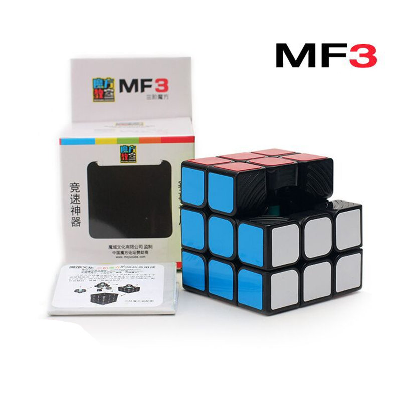 MOYU MF3 3X3 CUBE 3x3x3 Magic Cube 3Layer Black/White Professional Puzzle Classic Toys For Children
