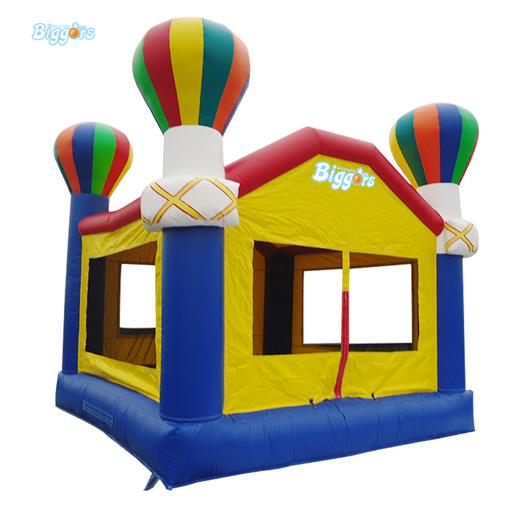 купить Balloon Theme Inflatable Bouncy Castle Combo Inflatable Bounce House With Blowers недорого