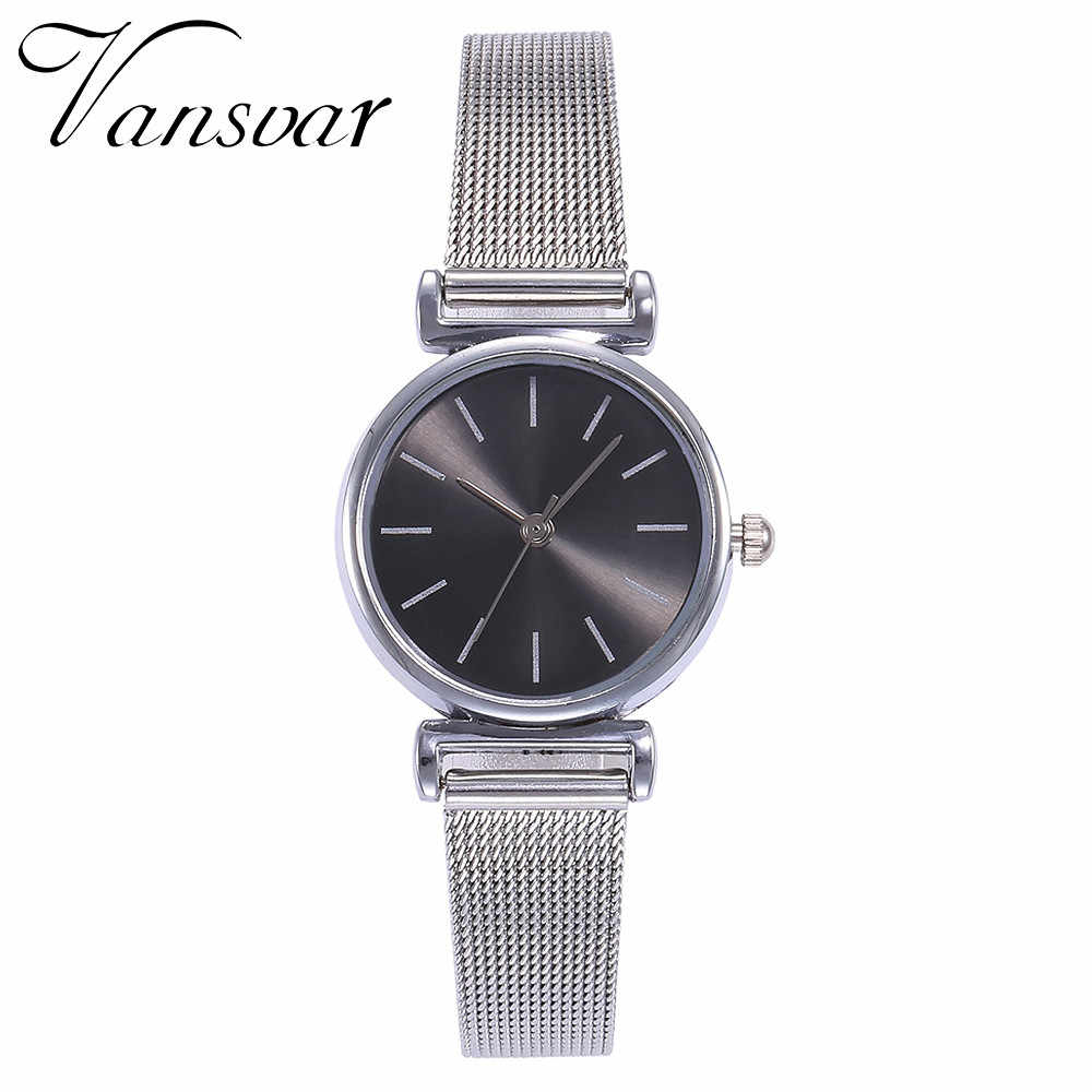 Minimalism Women Watches Silver Scale Dial Ladies Casual Quartz Wristwatch Business Mesh Strap Clock Gift Dress Montre Femme533
