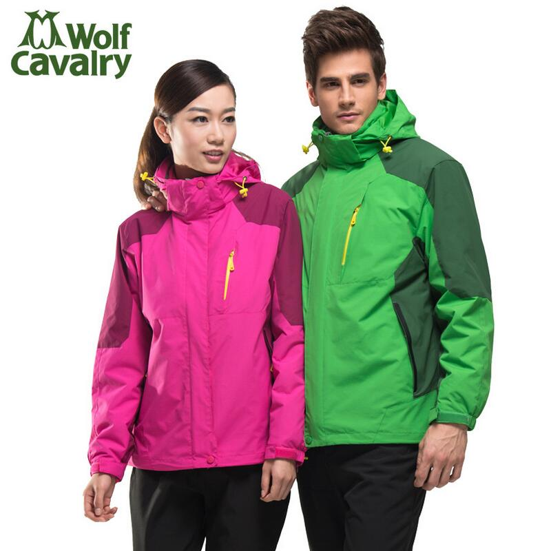 Jacket outdoor men Hiking clothes jacket women's winter sports ski suit windcheater Clothes for hunting and fishing 2017 new couple outdoor sports jackets men s three in one excursions hiking hooded women s two piece ski clothes fishing hunting