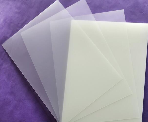 3/10/15 Sheets A4 Translucent Frosty Printable Waterproof Vinyl Film Sheet For Laser Printaer 150 micron